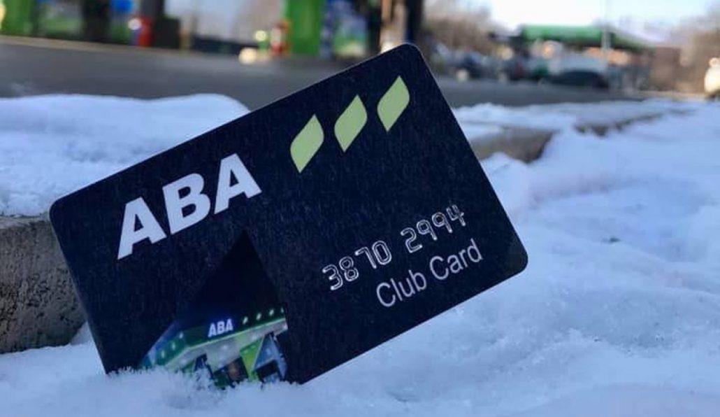 Obavijest za ABA potrošačke kartice